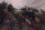 image of watercolor landscape painting Airstream IX by David Ladmore