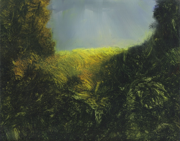 image of landscape oil painting Beacon Hill 9 by David Ladmore