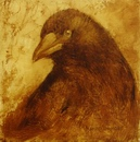 image of oil painting Crow 38 by David Ladmore