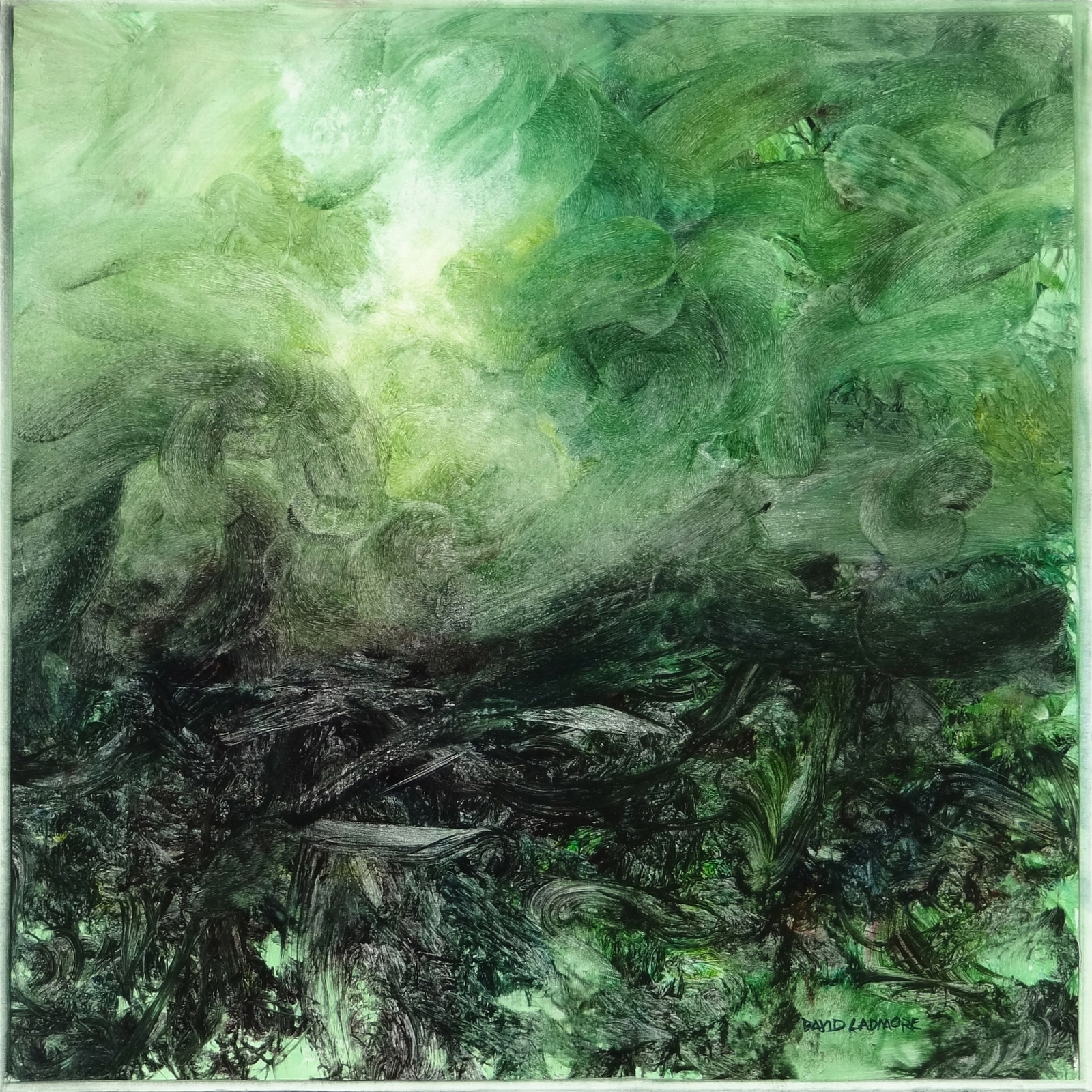 image of landscape oil painting Elemental 34 by David Ladmore