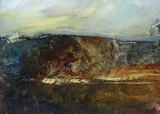 image of landscape oil painting Elemental 53 by David Ladmore