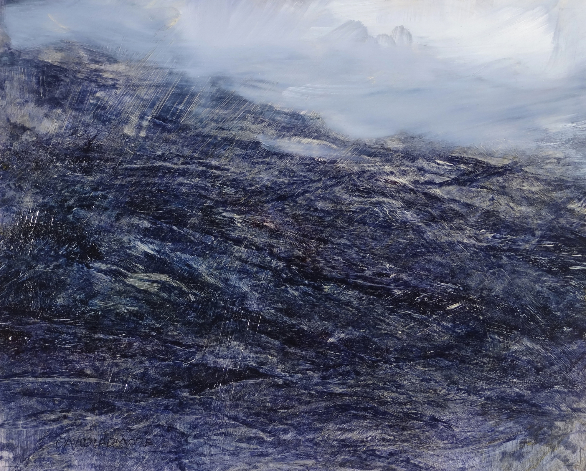 image of landscape oil painting Elemental 55 by David Ladmore