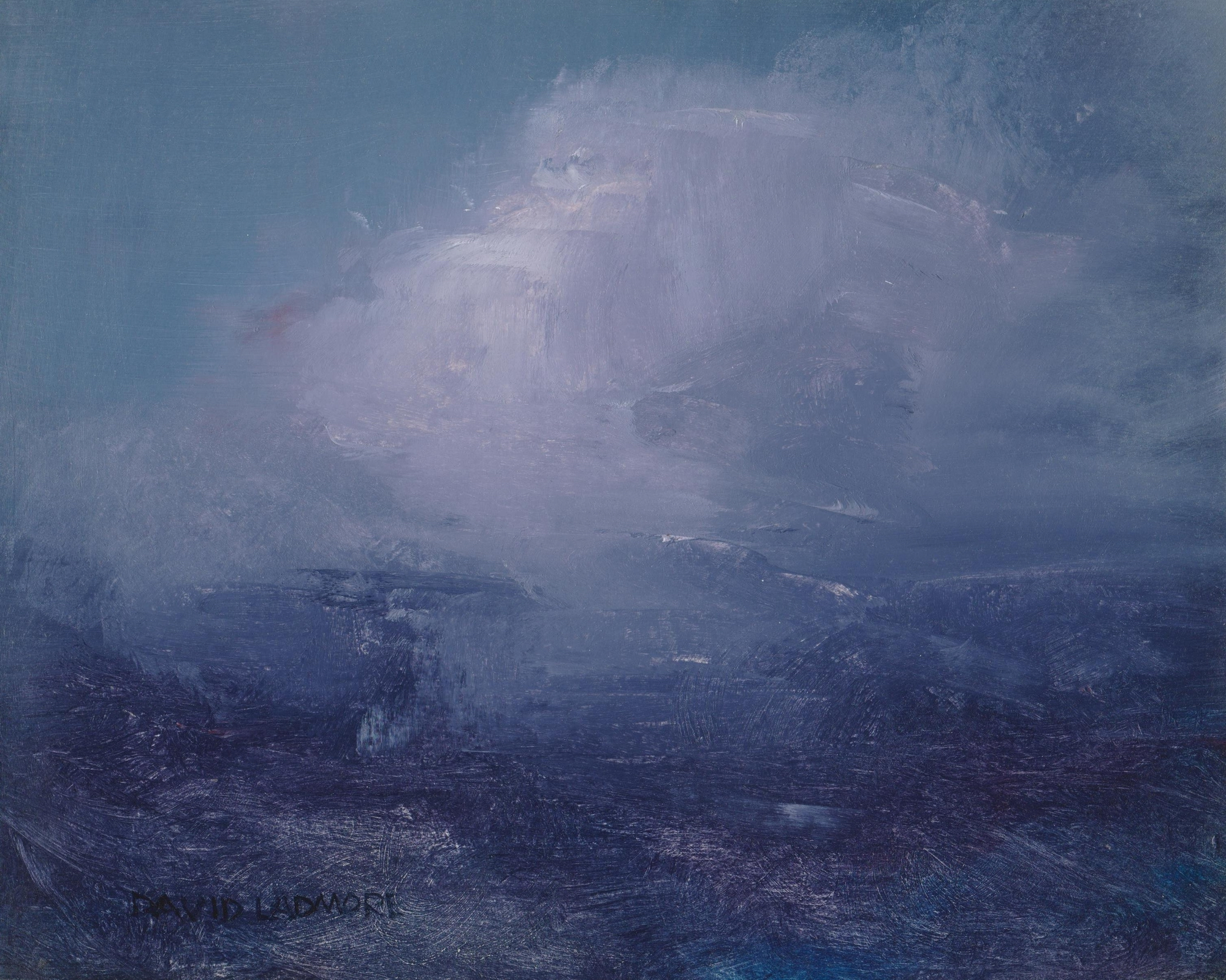 image of landscape oil painting Elemental 60 by David Ladmore