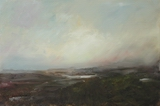image of landscape oil painting Elemental 16 by David Ladmore