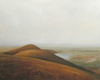image of landscape oil painting Foothills by David Ladmore