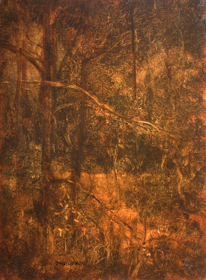 The Swanwick Collection: David Ladmore - Forest Interior 2