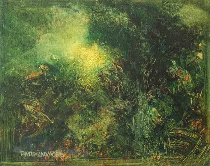 image of landscape oil painting Forest Light 10 by David Ladmore