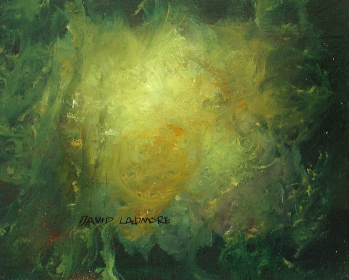 image of landscape oil painting Forest Light 12 by David Ladmore