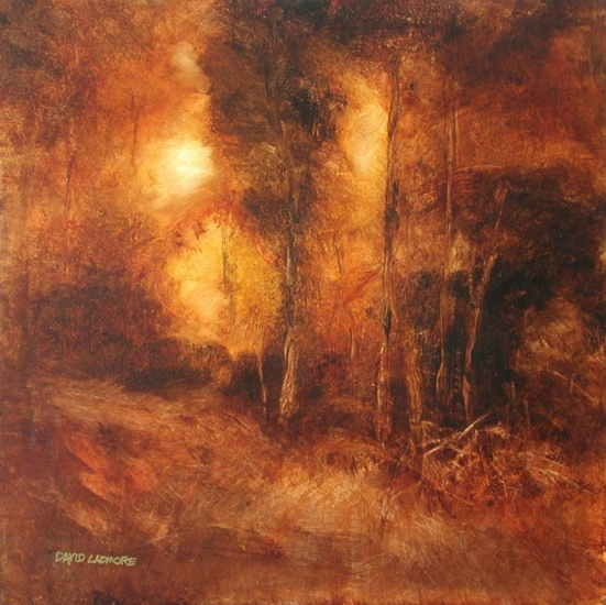 image of landscape oil painting Forest Light 47 by David Ladmore