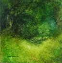 image of landscape oil painting Forest Light 70 by David Ladmore