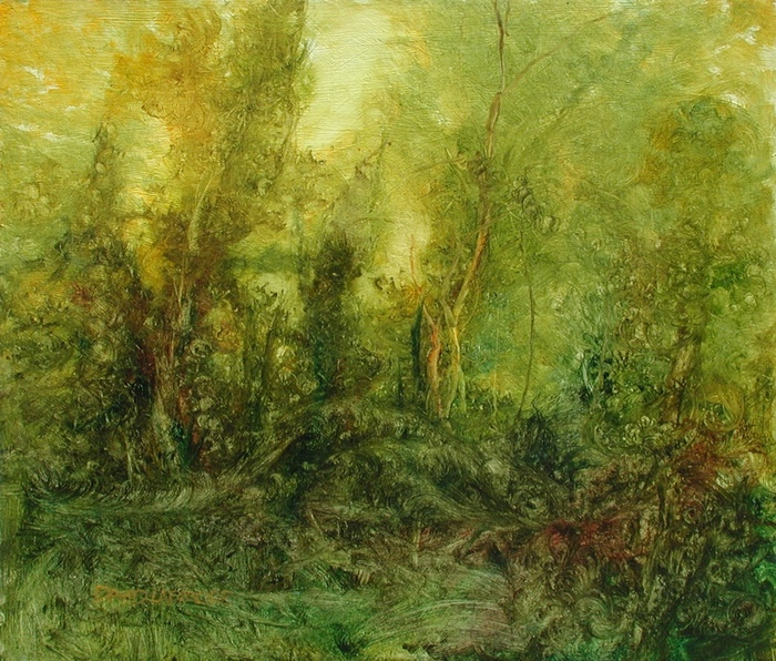 The Swanwick Collection: David Ladmore - Forest Light 7