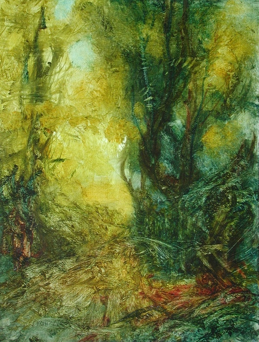 The Swanwick Collection: David Ladmore - Forest Light 9