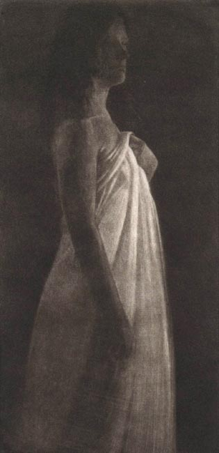 image of figurative mezzotint print James Bay Interior II by David Ladmore