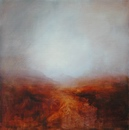 image of landscape oil painting Moorland 11 by David Ladmore