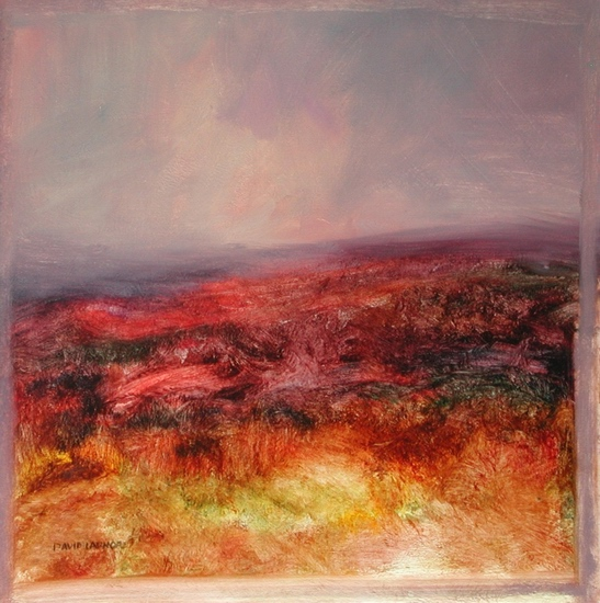 image of landscape oil painting Moorland 16 by David Ladmore