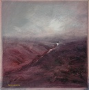 image of landscape oil painting Moorland 18 by David Ladmore