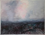 image of landscape oil painting Moorland 21 by David Ladmore