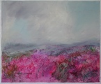 image of landscape oil painting Moorland 25 by David Ladmore