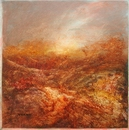 image of landscape oil painting Moorland 37 by David Ladmore
