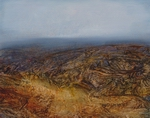 image of landscape oil painting Moorland 57 by David Ladmore