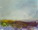 image of landscape oil painting Moorland 75 by David Ladmore