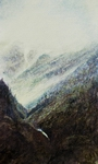 image of watercolor landscape painting Olympics #2 by David Ladmore