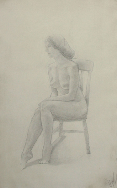 Nude on Rocking Chair 3