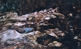 image of watercolor landscape painting Passages by David Ladmore