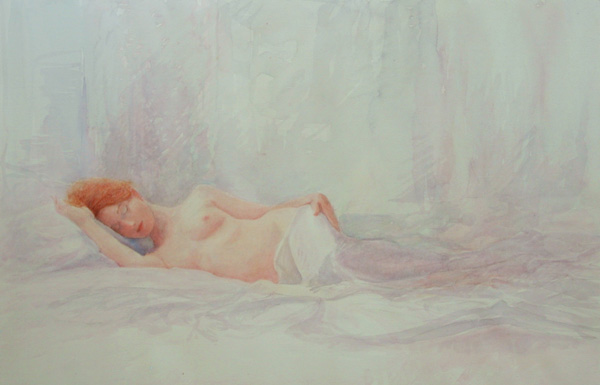 The Swanwick Collection: David Ladmore - Reclining Nude 4