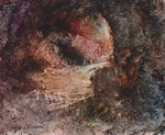 image of oil painting Sea Cave 12 by David Ladmore