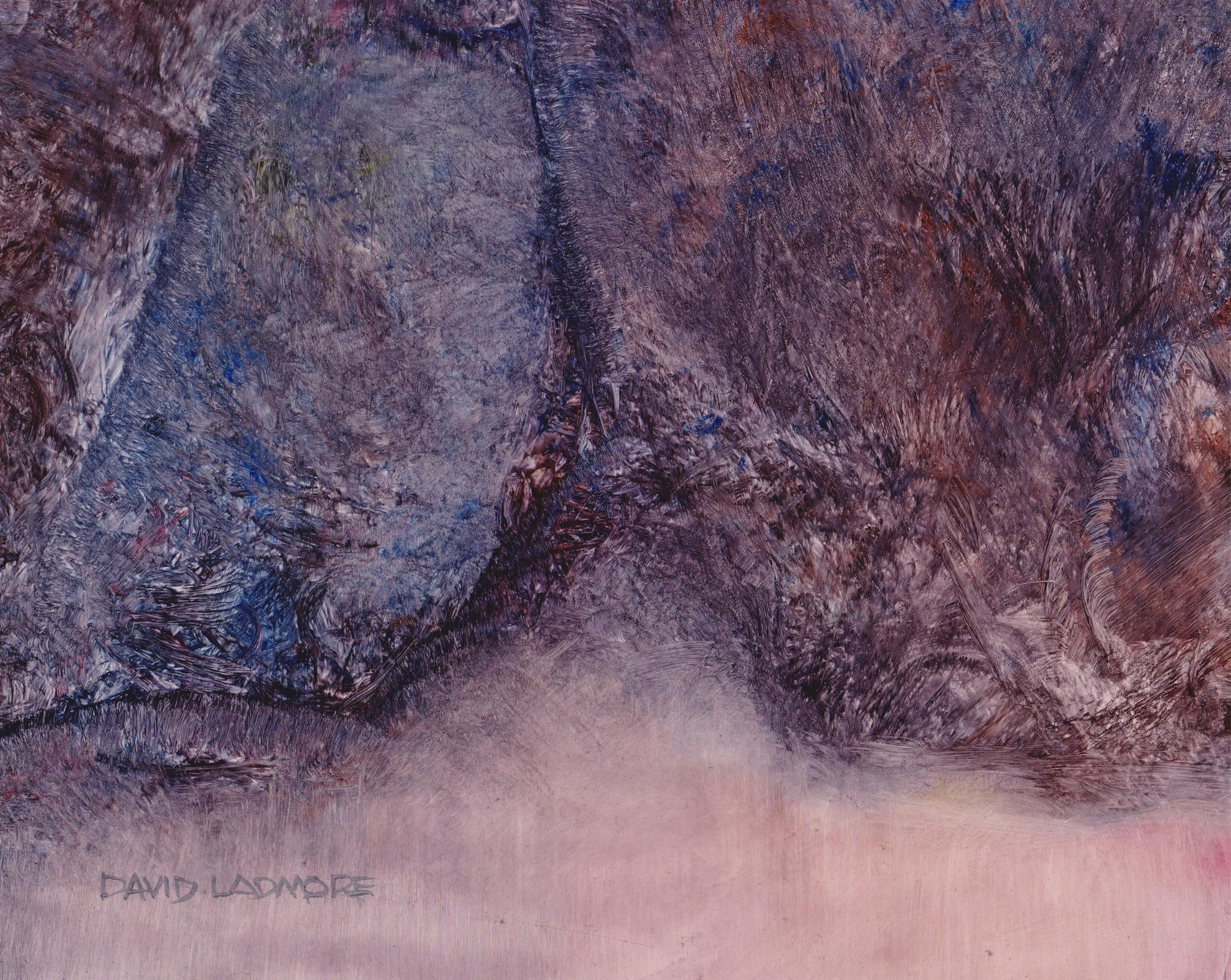 image of oil painting Sea Cave 13 by David Ladmore