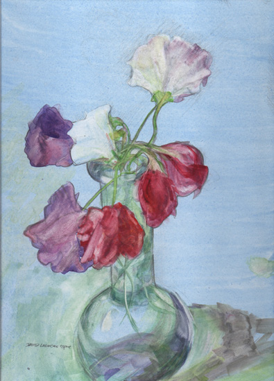 The Swanwick Collection: David Ladmore - Sweetpeas 4