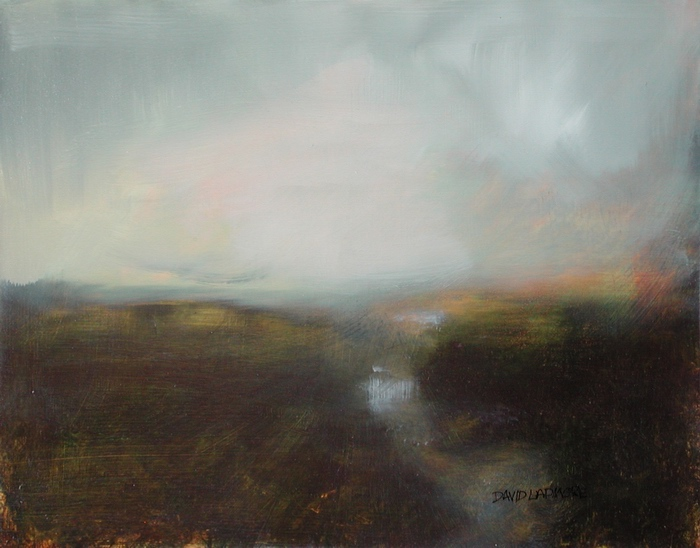 image of landscape oil painting Twilight 6 by David Ladmore