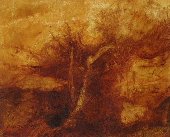 image of landscape oil painting Warm Earth 51 by David Ladmore