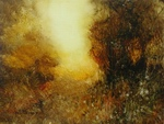 image of oil painting Warm Earth 64 by David Ladmore