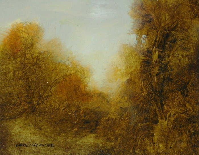 image of landscape oil painting Warm Earth 40 by David Ladmore