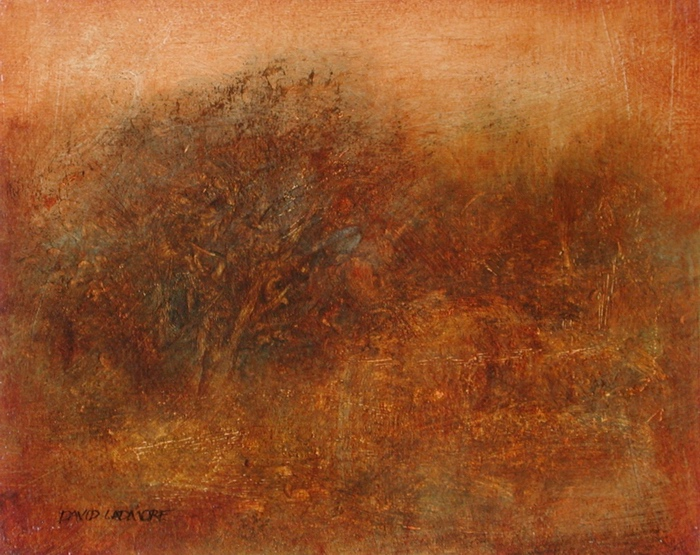 image of landscape oil painting Warm Earth 41 by David Ladmore