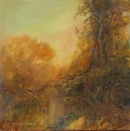 image of landscape oil painting Warm Earth 19 by David Ladmore