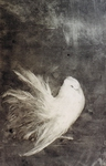 image of monotype White Bird by David Ladmore