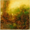 image of landscape oil painting Woodlands 54 by David Ladmore